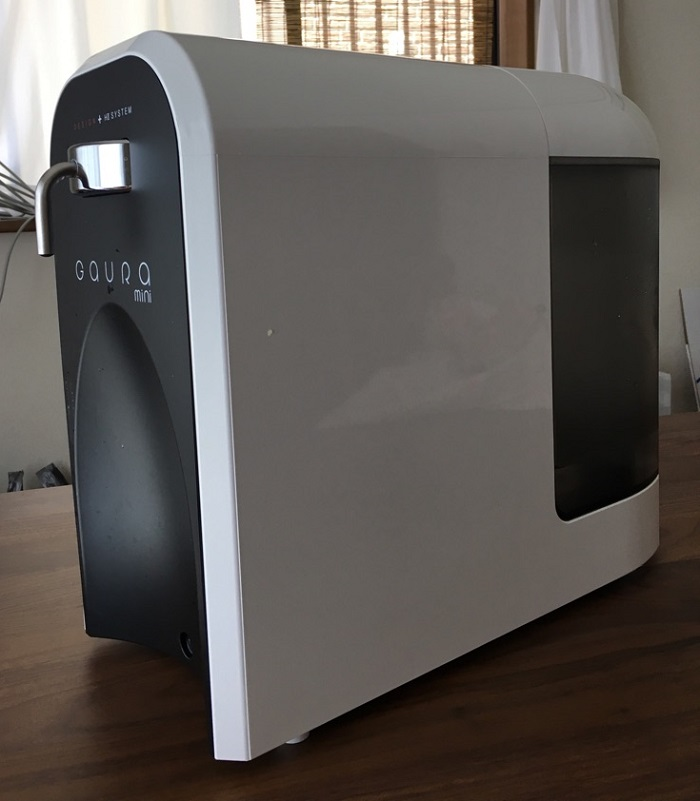 卓上型水素水生成器「GAURA mini」
