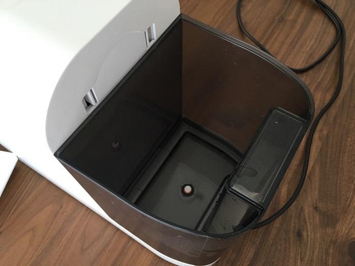 卓上型水素水生成器「GAURA mini」の水タンク